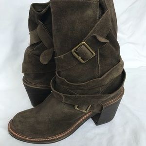 Jeffrey Campbell FRANCE olive green boot 8